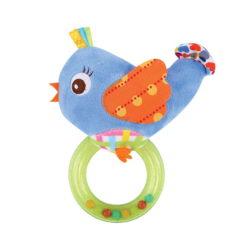 Κουδουνίστρα με κρίκο Rattle with Ring Bird Lorelli 10191290003