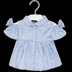 Mayoral Πουκαμίσα baby κορίτσι Χρώμα Μπλε