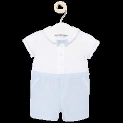 Mayoral Φορμάκι παντελόνι κοντό Νεογέννητο αγόρι Χρώμα Dream