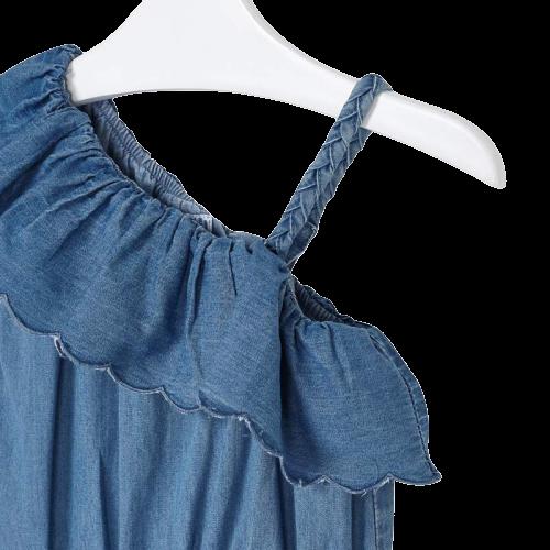 Mayoral Φόρμα τζιν κορίτσι Χρώμα Τζιν