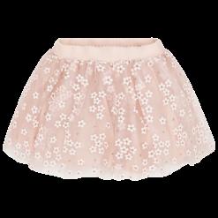 Mayoral Φούστα τούλι λουλούδι γκλίτερ κορίτσι Χρώμα Ροδακινί