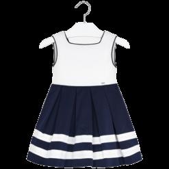 Mayoral Φόρεμα δίχρωμο κορίτσι Χρώμα Ναυτικό μπλε