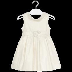 Mayoral Φόρεμα μεταλλιζέ κορίτσι Χρώμα Σαμπάνια