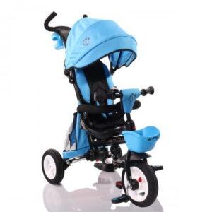 Τρίκυκλο Ποδηλατάκι Αναδιπλούμενο Flexy Lux Blue Byox