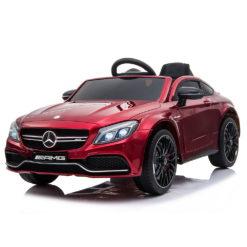 Mercedes Benz C63s QY1588 Red Ηλεκτροκίνητο Αυτοκίνητο Cangaroo