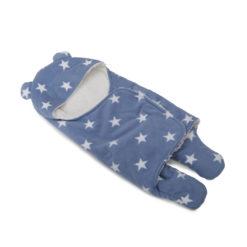 Βρεφικός σάκος εξόδου-υπνόσακος Cosy Fleece Blue Cangaroo 3800146260590