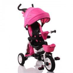 Τρίκυκλο Ποδηλατάκι Αναδιπλούμενο Flexy Lux Pink Byox