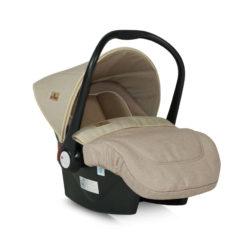 Κάθισμα Αυτοκινήτου Lifesaver με ποδόσακο 0-13 kg Beige Lorelli 10070301840