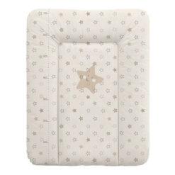 Αλλαξιέρα Μαλακή 50x70 cm Beige Stars Lorelli 1013016