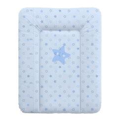 Αλλαξιέρα Μαλακή 50x70 cm Blue Stars Lorelli softy 101316