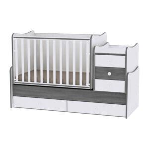 Πολυμορφικό Κρεβάτι Maxi Plus Vintage Grey Lorelli 10150300034А