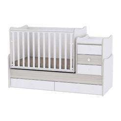 Πολυμορφικό Κρεβάτι Maxi Plus Light Oak Lorelli 10150300036A