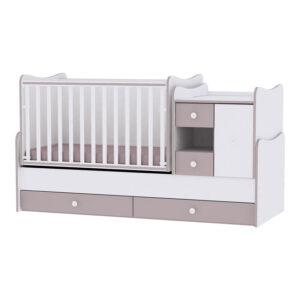 Πολυμορφικό Κρεβάτι MiniMax White Cappuccino Lorelli 10150500025A