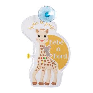 Σόφι καμηλοπάρδαλη Baby on Board σήμα με φωτάκια Γαλλικά