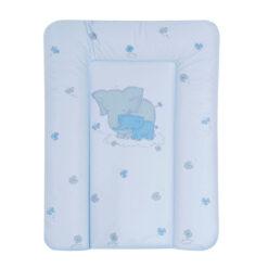 Αλλαξιέρα Μαλακή 50x70 cm Elephants Blue Lorelli softy 101316