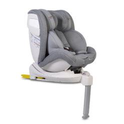 Κάθισμα αυτοκινήτου 0-36 κιλά Isofix Με Leg Support Admiral Light Grey Cangaroo