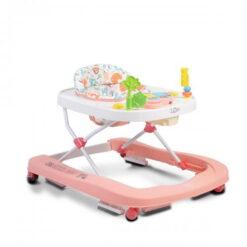 Περπατούρα Zoo 2 σε 1 Pink Cangaroo 3800146243906