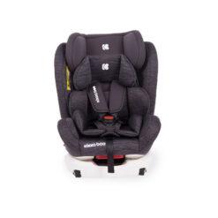 Κάθισμα Αυτοκινήτου (0-36 kg) isofix 4 Fix Grey Melange Kikka Boo 31002070011 + Δώρο Αμβλυγώνιος Καθρέφτης
