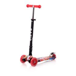 Πατίνι Scooter Rapid Τρίτροχο με Φωτιζόμενους Τροχούς Graffiti Lorelli 10390040002