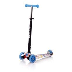 Πατίνι Scooter Rapid Τρίτροχο με Φωτιζόμενους Τροχούς Tracery Lorelli 10390040003