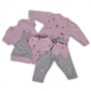 Σετ 6 τεμαχίων για νεογέννητο Newborn Star Girl Cangaroo 3800146266806