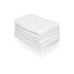 Βρεφικές πάνες αγκαλιάς Σετ 4 τεμάχια 90x90 εκατοστά Diapers White Lorelli