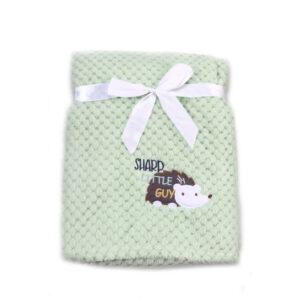 Κουβέρτα Fleece Αγκαλιάς 80 x 110cm Freya Green Cangaroo 3800146263997