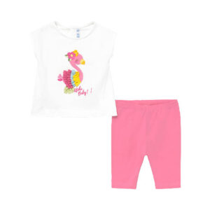 Mayoral Σετ Κολάν Baby Κορίτσι Χρώμα Ροζ